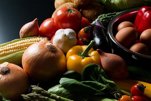 米・野菜は可能な限り地産地消にこだわり、旬の美味しい野菜を提供しています。